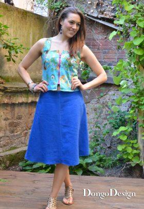 Skirt in 6 Lanes