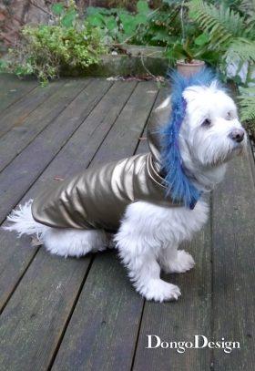 Hundemantel Chanell für Coco